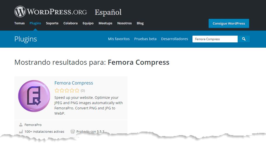 Seleccionar Femora Compress