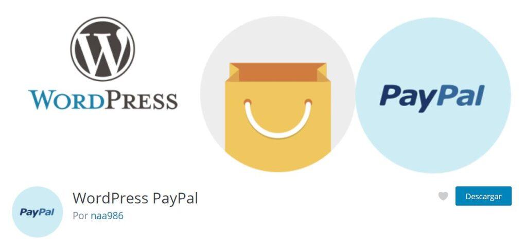 Plugin de paypal para WordPress  WordPress PayPal
